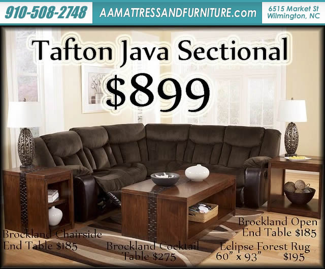 Tafton Java Sectional W