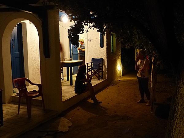 première soirée à Naxos