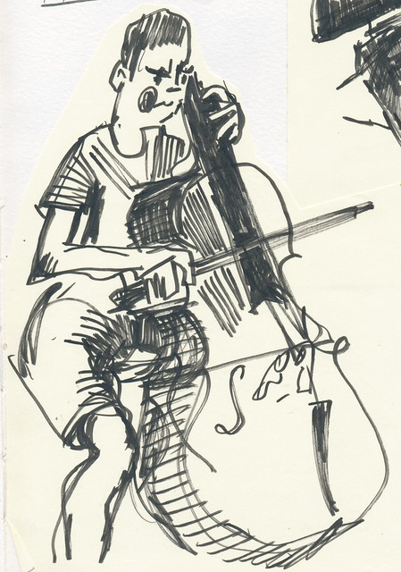 Sketchbook #99: Cello