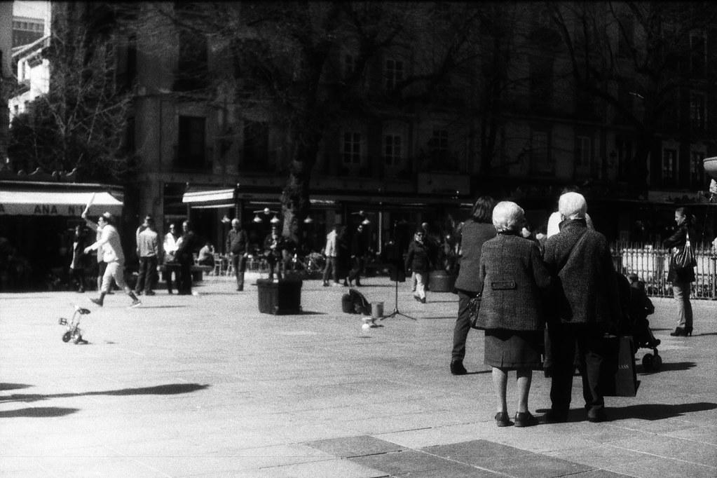 Granada. Espectáculo de calle. (III)