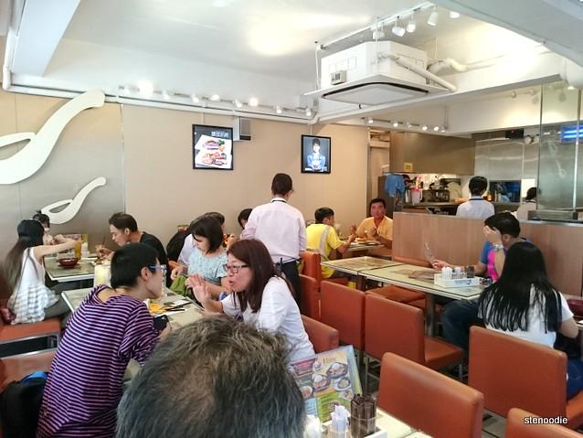 Daniel's Restaurant interior