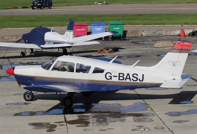 Piper PA-28-180 Cherokee G-BASJ 22SEP16