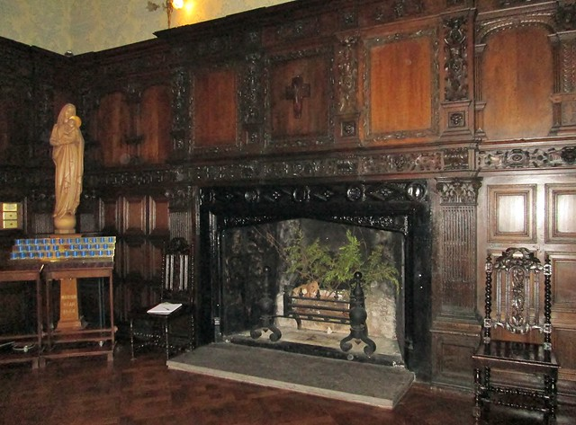 Kylemore Abbey Fireplace 1