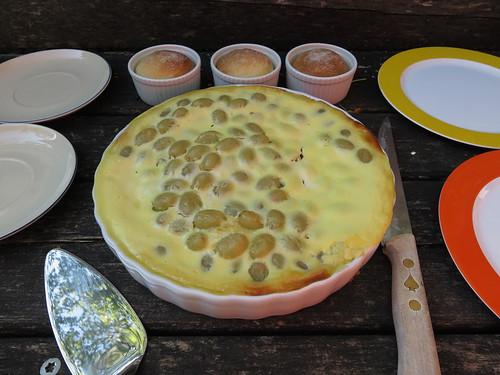 Luxemburger Traubenkuchen und Hefebollen