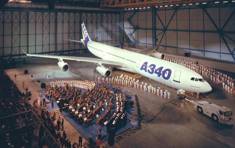 Huszonöt éve mutatták be az Airbus A340-est
