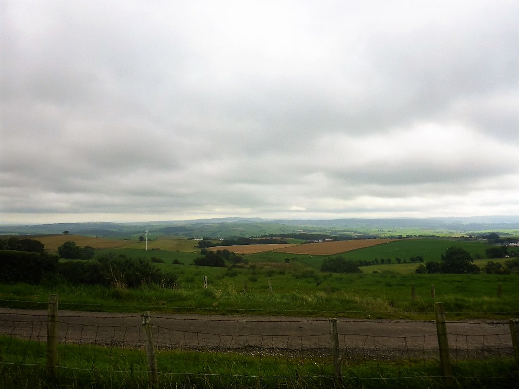 South Ayrshire Landscape, Scotland