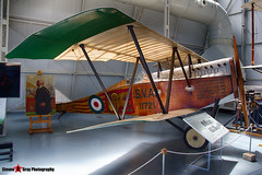 11721 - - Italian Army - Ansaldo SVA.5 - Italian Air Force Museum Vigna di Valle, Italy - 160614 - Steven Gray - IMG_9900_HDR