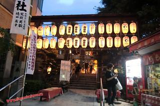 CIMG1403 Templo Kushida en festival (Fukuoka) 14-07-2010