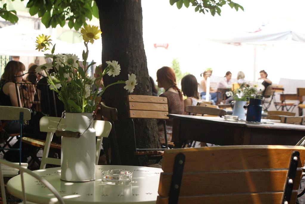 Café Mleczarnia à Cracovie.