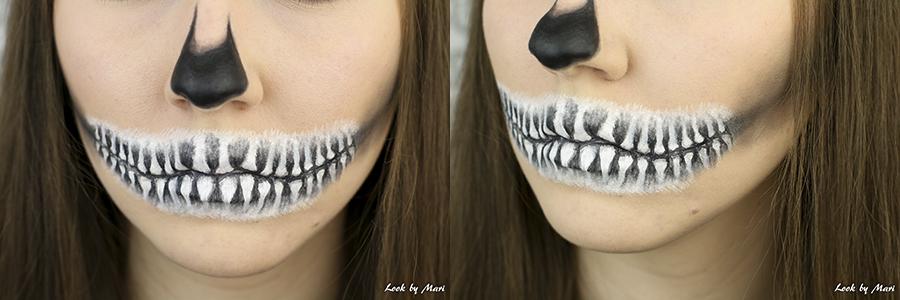 6 halloween luuranko meikki helppo askel askeleelta tutoriaali