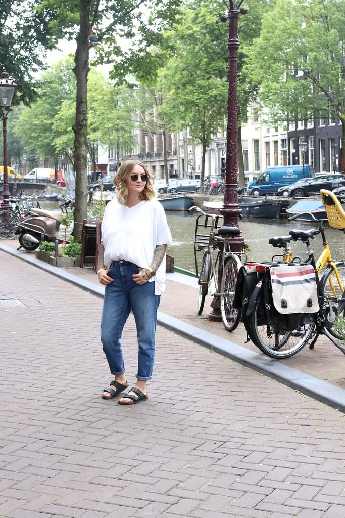 amsterdam,amsterdam outfit,katelouiseblog,street style,w hotel amsterdam,outfit, casual style, rayban,