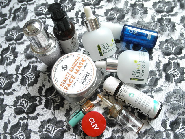 Skincare Empties Serum Mask Essence Acne Eye Cream Ampoule Vit C