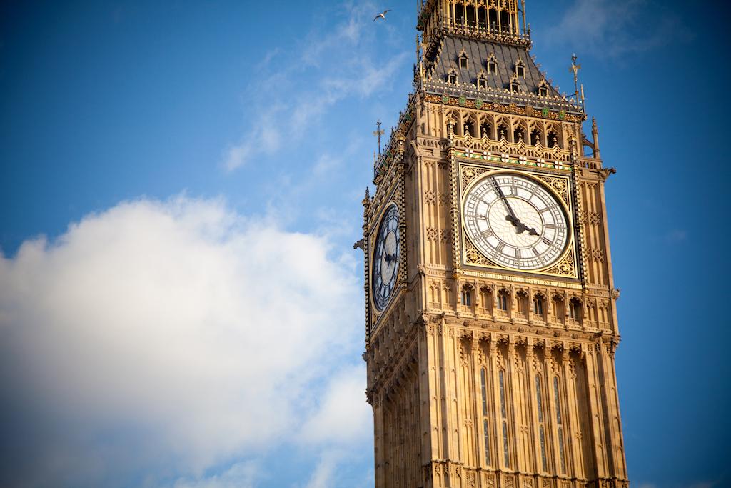 Big Ben una de las paradas de metro más importantes en Londres