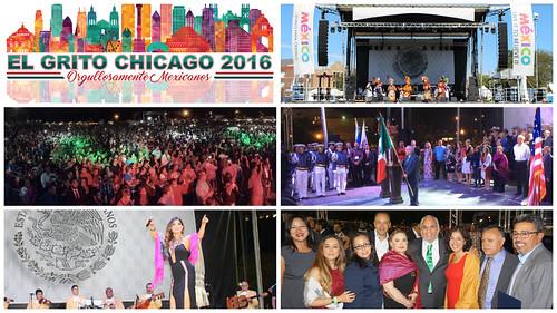 206 Aniversario de la Independencia de México en Chicago