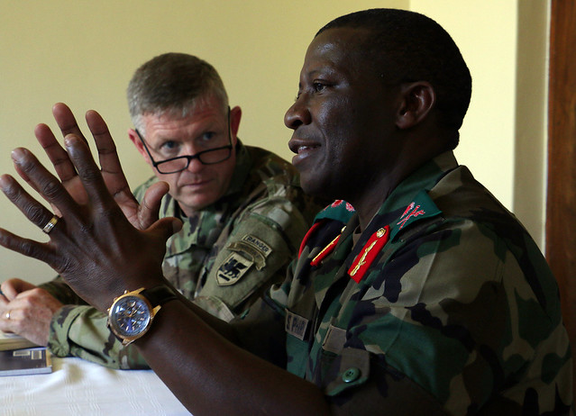 Southern African, USARAF leaders discuss regional concerns during SA16