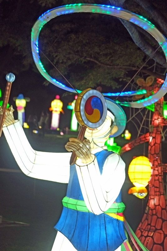 Jinju Lantern Festival, 2016, Korea
