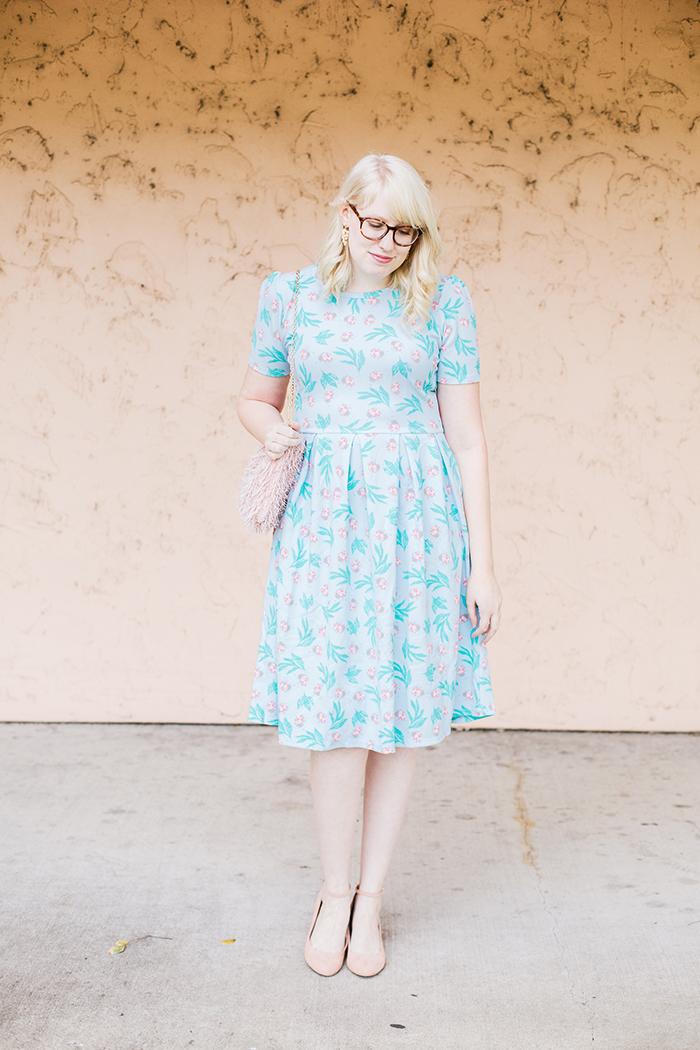 writes like a girl lularoe amelia ladybug dress5