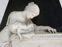 Lucretia West grieves over her dead infant son