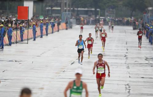 Amado García y Carlos Trujillo finalizan maratón olímpico