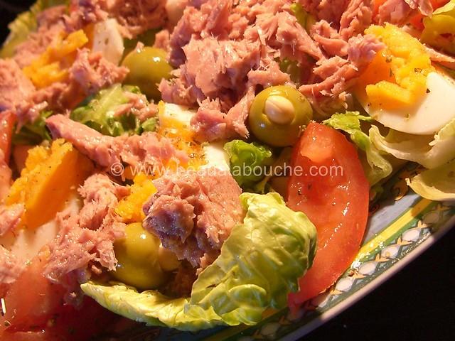 Salade Mêlée au Thon © Ana Luthi Tous droits réservés 004