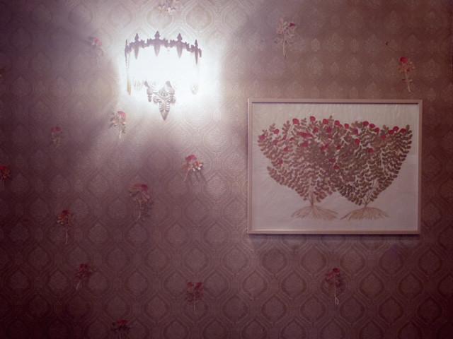 喫茶クラウンの壁 今村文さんの作品