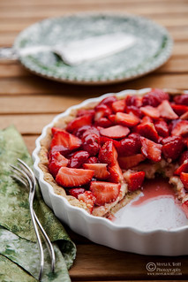 French Strawberry Creme Patiserie Tart (0012) | by Meeta Wolff @ What's For Lunch, Honey?