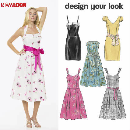 New Look 6773 sewing pattern