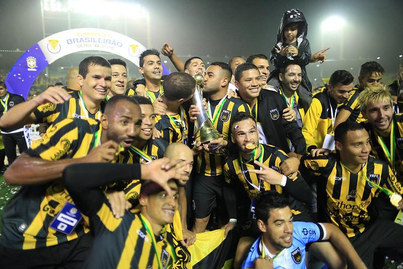 Volta Redonda campeão da Série D