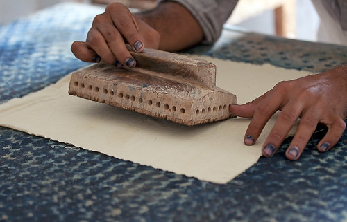 Gujarat : Kutch, Ajrakh block printing #1 | by foto_morgana