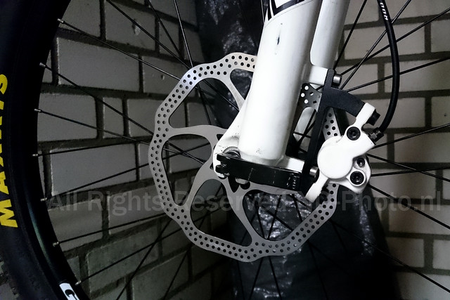 180mm Avid HS1 Brake disc upgrade