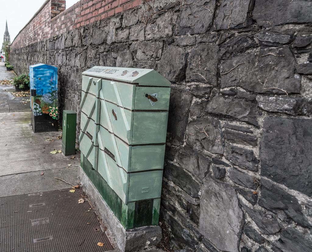 STREET ART - PAINT A UTILITY CABINET IN DUBLIN [PHIBSBORO]-121609