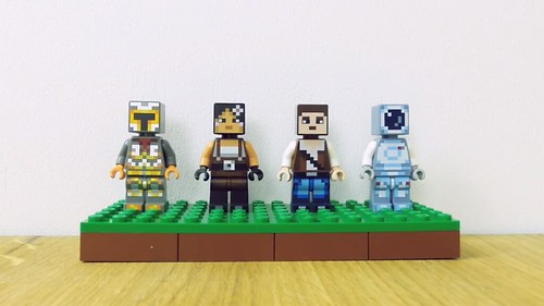 LEGO Minecraft Skin Packs (853610)