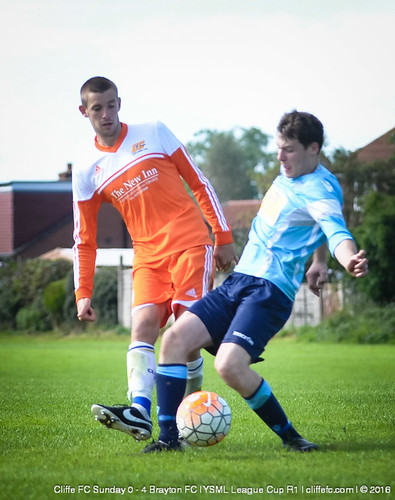Cliffe FC Sunday 0 - 4 Brayton FC (YSML League Cup)