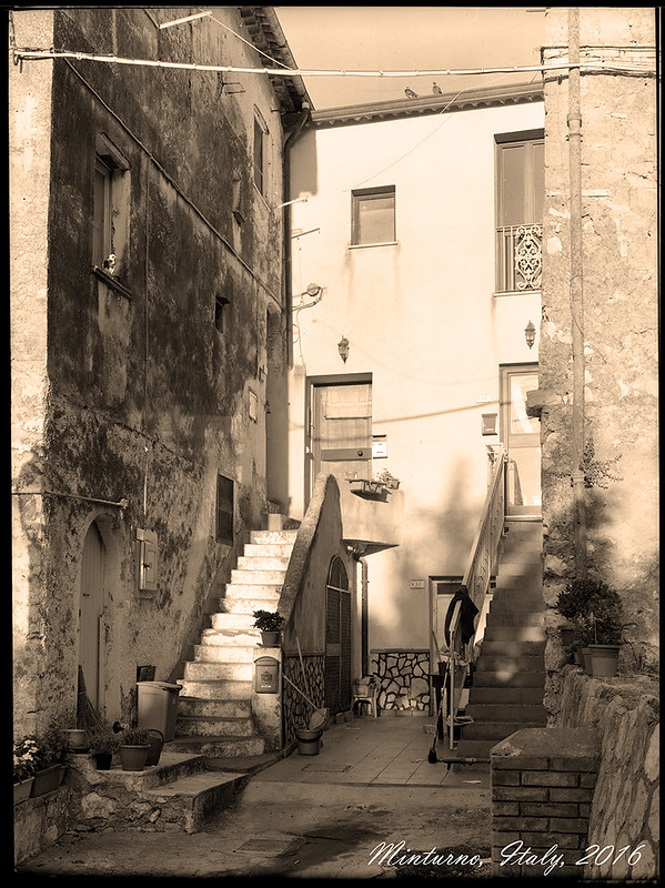 Minturno, Italy 9x12
