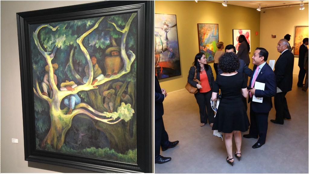 Abre en Brasilia muestra de grandes pintores de América Latina y Caribe