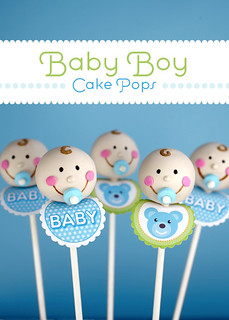 Baby Cake Pops | by Bakerella