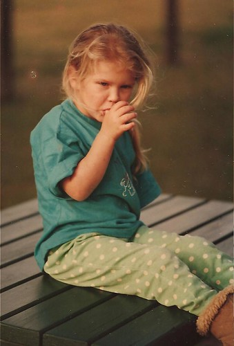 Matilda at four years old