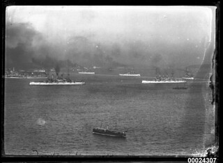 Visit of the Great White Fleet to Sydney Harbour | by Australian National Maritime Museum on The Commons