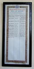 Bircham Newton Roll of Honour