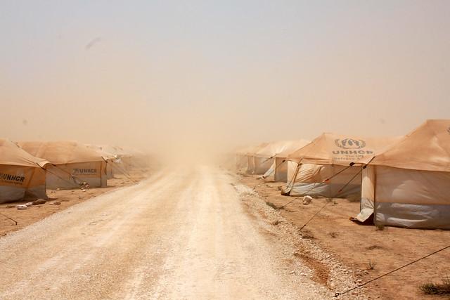 シリア 難民 キャンプ ヨルダン ザータリ