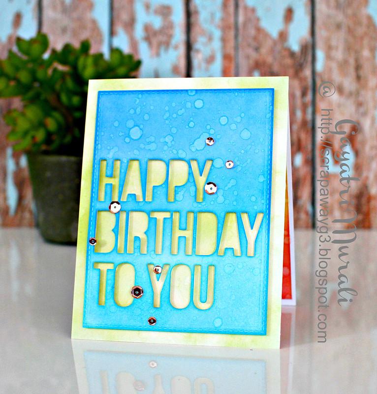Happy Birthday to you#1