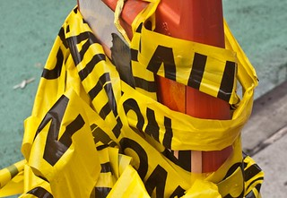 Caution Tape | by elbrozzie