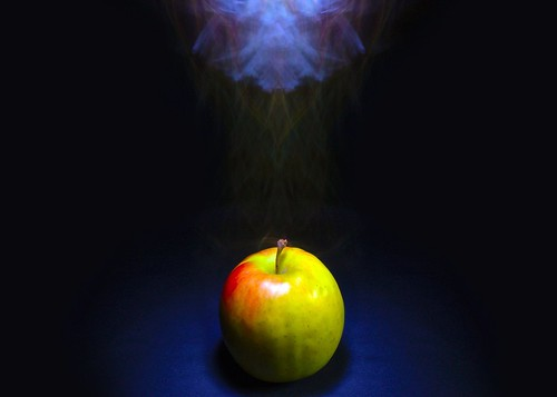 Apple Smoking In The Darkness | by A Guy Taking Pictures