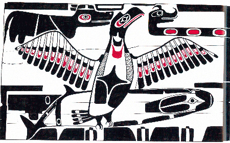 Nuu chaa nulth (Nootka) house screen | by pnsn