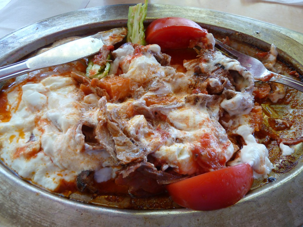 Iskender with that ayran