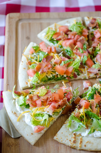 Cheesy BLT Pizza 2 | by Seeded at the Table