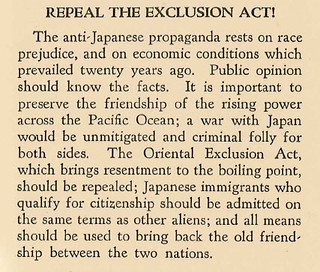 1925: Responded to racism of Japanese Exclusion Clause | by AFSC Photos