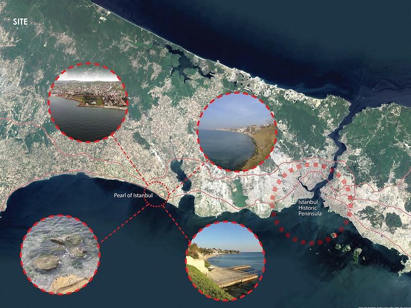 Рукотворные острова The Peal of Istanbul от Forum Studio