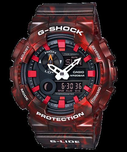 Reloj Casio G-Shock G-Lide Marea Lunar Hombre GAX100MB-4A