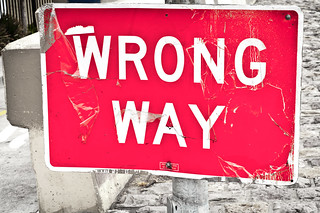 WRONG WAY | by CarbonNYC [in SF!]